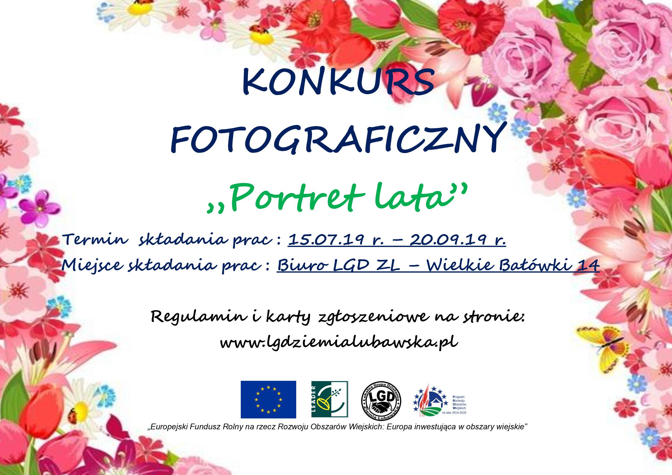 """Ilustracja do informacji: """"Portret Lata"""" - zapraszamy do udziału w konkursie organizowanym przez LGD"""