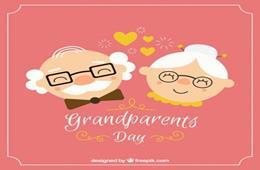 Ilustracja do informacji: Święto wszystkich Babć i Dziadków