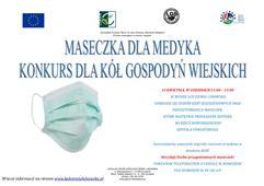 """Ilustracja do informacji: """"Maseczka dla Medyka"""" - konkurs rękodzielniczy"""
