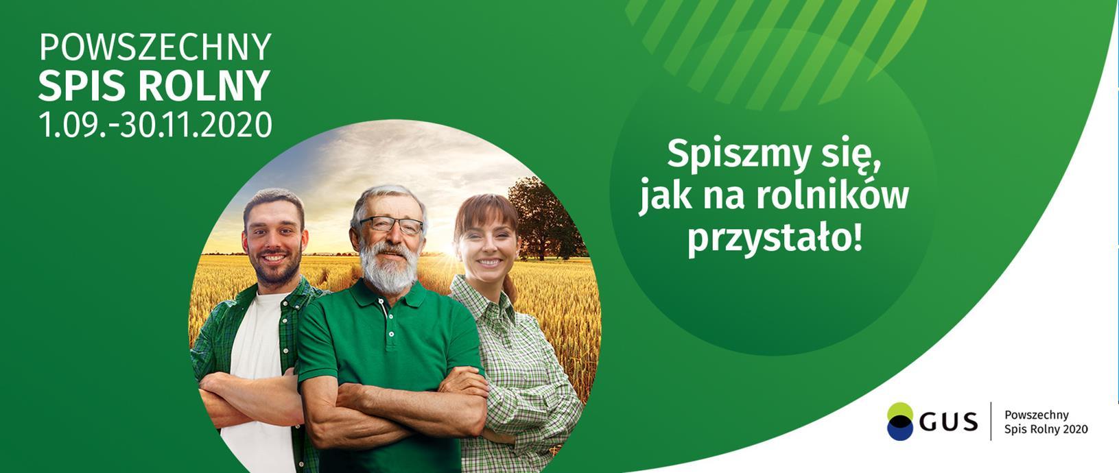 Baner: Powszechny Spis Rolny 2020 .2