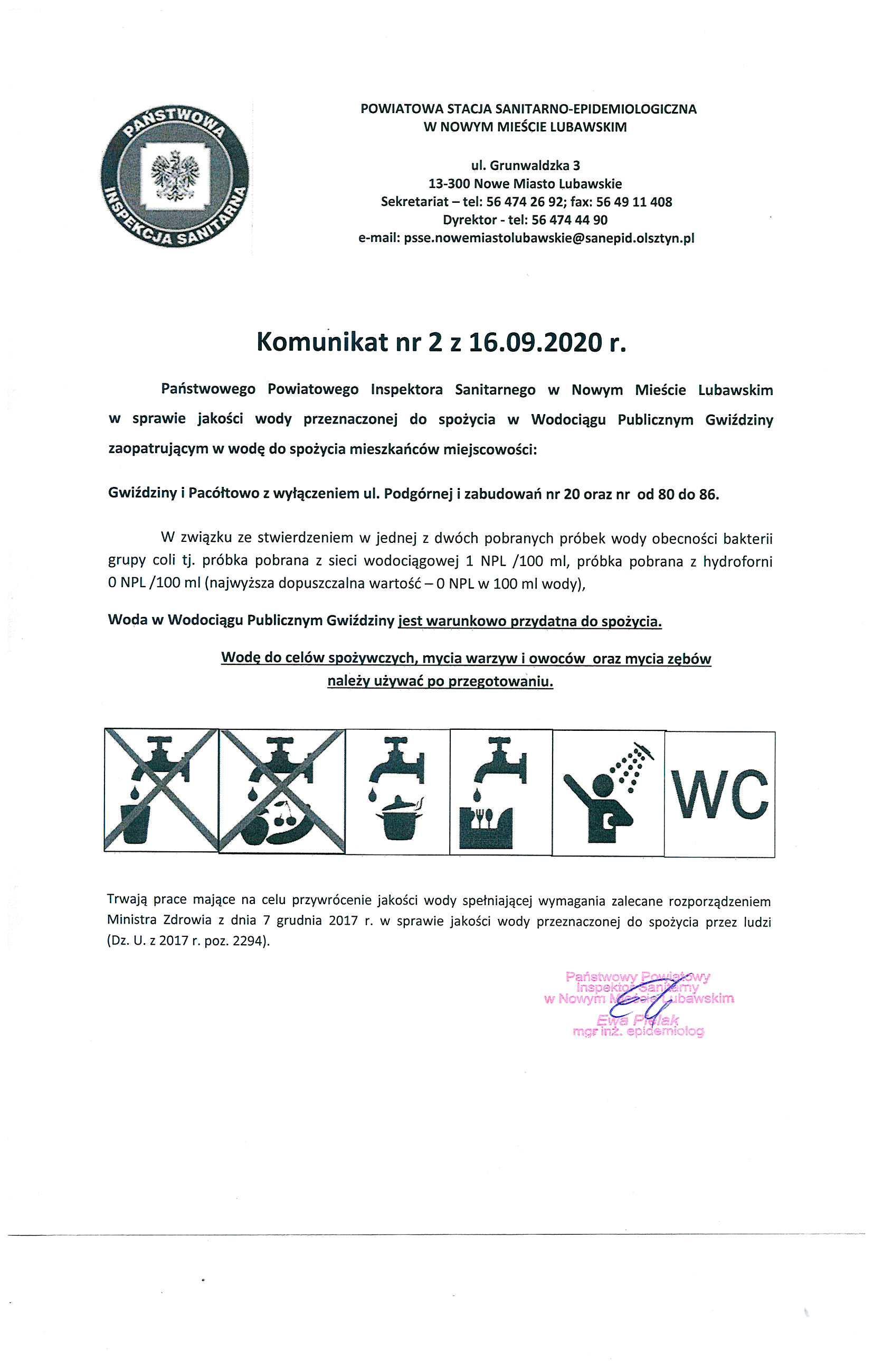 Ilustracja do informacji: Kolejne nitki wodociągowe w gminie