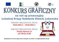 Ilustracja do informacji: Przypominamy o konkursie na roll up promocyjny LGD