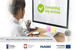 Ilustracja do informacji: Zamelduj się na GOV.pl!