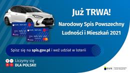 Ilustracja do informacji: Spisz się przez internet i weź udział w loterii