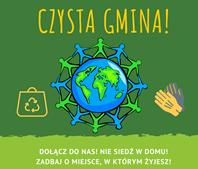 Ilustracja do informacji: CZYSTA GMINA - zapraszamy do udziału w naszej akcji