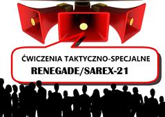 Ilustracja do informacji: Ćwiczenia taktyczno-specjalne RENEGADE/SAREX-21