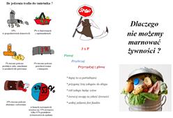 Ilustracja do informacji: Co by było, gdybyśmy nie marnowali żywności? - projekt uczniów ZS w Bratianie