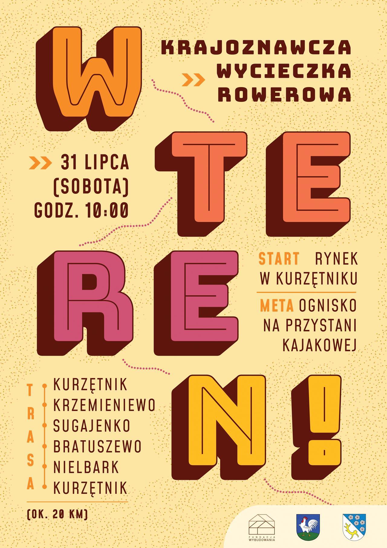Plakat Wycieczka Rowerowa