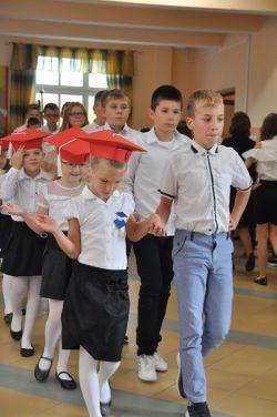 Miniatura zdjęcia: Ślubowanie pierwszoklasistów z ZS. im. Rodu Działyńskich