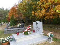Miniatura zdjęcia: poświęcenie pomnika na cmentarzu w Bratianie