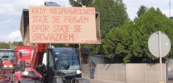 Miniatura zdjęcia: Protest rolników