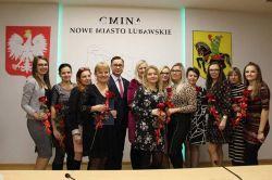 Miniatura zdjęcia: Pracownice Ośrodka Pomocy Społecznej Gminy Nowe Miasto Lubawskie