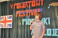 Miniatura zdjęcia: V Powiatowy Festival Piosenki Anglojęzycznej